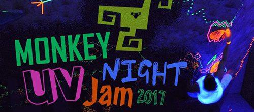 Monkey Night UV Jam építési munkálatok
