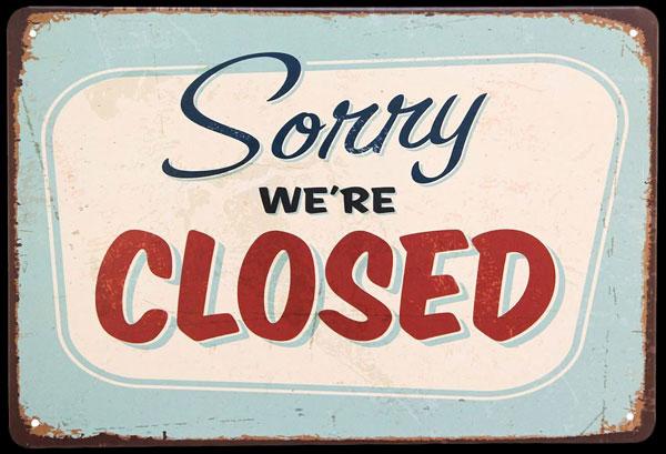 Zárva :-(